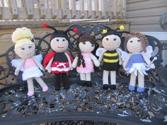 Ravelry: Ms. Lailee Bug pattern by Amber Schaaf