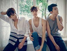 Jun.K and Woo Young and Taecyeon - NO.5