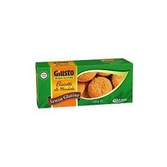 GIULIANI SpA GIUSTO Senza Glutine Biscotti Alle Mandorle 120 g a soli 3,32€