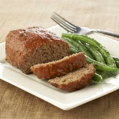 When you want plain, simple comfort food just like you remember, this meat loaf is for you.