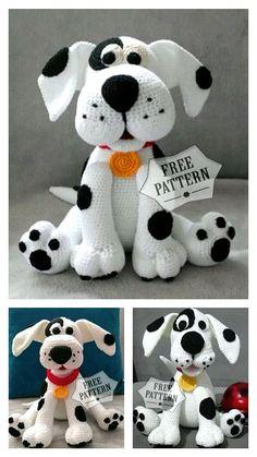 Crochet Zebra, Crochet Animal Amigurumi, Crochet Baby Toys, Crochet Animals, Crochet Dolls, Crochet Stuffed Animals, Dog Crochet, Crocheted Toys, Doll Patterns Free