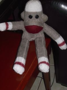 I made this DIY Sock Monkey for my 8 yo he LOVES it!!!