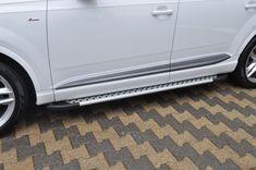 Praguri laterale / Side steps Audi Q7 Audi Q7, Artemis, 4x4, Chrome, Home Appliances, Vehicles, Style, House Appliances, Swag