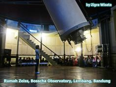 This is the picture of Rumah Zeiss (Zeiss's House), Bosscha Space Observatory, Lembang, Bandung, West Java, Indonesia