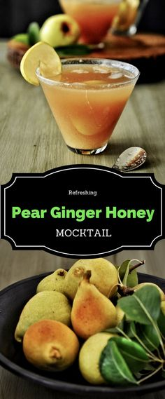 You want a Fall/Autumn beverage, that's bursting with warm yet comforting flavors? Try this Pear Ginger Honey Mocktail. Made with fresh pear juice and sweetened with honey, this is one soothing drink that you can choose to start your days with.