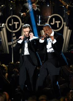 These guys - Justin Timberlake and Jay-Z. Yes.