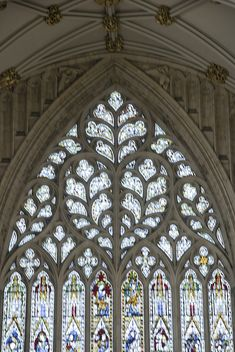Stained Glass, York Minster Cathedral