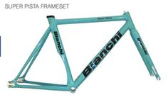 Bianchi Super Pista celeste 2015 italian track and fixed gear frame set at  Bike Attack santa c089c7cacc