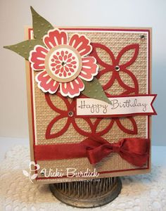 Stampin' Up! Mixed Bunch and Lattice Die