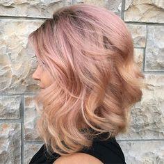 "My ""Blushing beauty""  #rouge22salon #hairbytammymuniz #chattanoogacolorist #chattanoogastylist #cha #trendyhair #oneshot #Pravana #pastelhair #pinkhair #americansalon #modernsalon #solasalons #solasalonschattanooga #hamiltonplace #hamiltoncrossing  #guytanginspired #beautylaunchpad #lpweeklydo #behindthechair #nothingbutpixies #onlytennisee #noogagram"