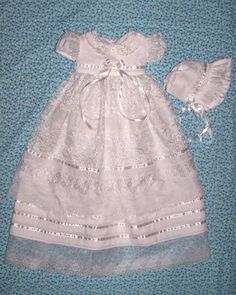 Handmade Christening Gown by my amazing cousin! Check her stuff out! :o)