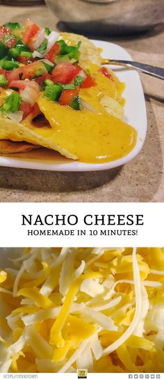 One of my favorite recipes: how to make spicy nacho cheese sauce in just 10 minutes using common pantry items! Great for dipping tortilla chips or as a sauce to top a plate of nachos, tacos, fajitas, and so much more. You'll want to save this recipe. Spicy Nacho Cheese Sauce Recipe, Cheese Recipes, Home Made Nacho Cheese, Hummus, How To Make Nachos, How To Make Cheese Sauce, Homemade Nachos, Best Cheese, Cheese Appetizers