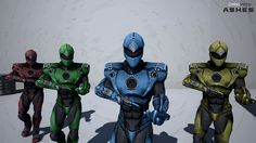 Our staff is giving the new ‪#‎Ashes‬ armor a test-run. Courtesy of OmniVoid's character & 3D artist, Stefano Zantut.  Visit us at: www.omnivoid.net Follow us on Twitter: twitter.com/omnivoidstudio  #OmniVoid #GameDev #UE4 #UnrealEngine
