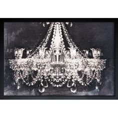 """House of Hampton Dramatic Entrance Night Framed Graphic Art Size: 12"""" H x 17"""" W x 0.5"""" D, Frame Color: Black"""