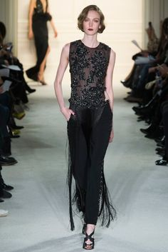 Marchesa Fall 2015 Ready-to-Wear Fashion Show - Kate Somers