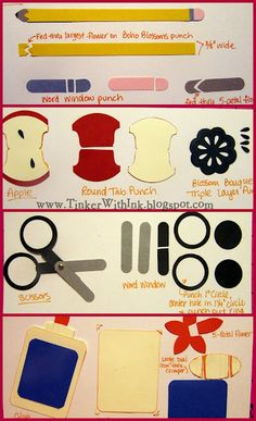 Tinker With Ink & Paper: Get to the Punch! ~ http://www.tinkerwithink.com/2011/09/get-to-punch.html
