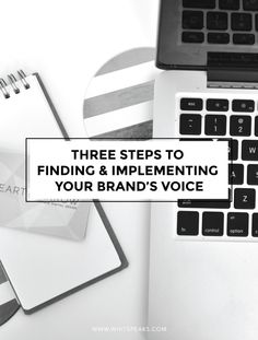 Three Steps to Finding Your Brand's Voice by WhitBlake-