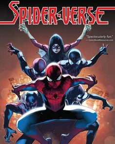 SPIDER-VERSE Story By: DAN SLOTT, CHRISTOS GAGE Art By: OLIVIER COIPEL, HUMBERTO RAMOS and ADAM KUBERT Published: March 15, 2016  When the evil Inheritors begin exterminating spider-characters throughout Multiverse, every Spider-Man ever is needed to save the day! An inter-dimensional Spider-Army gathers to fight Morlun and his family, but none of them is safe as the Prophecy comes to fruition!  Order It Now! http://amzn.to/2cQiKmb  #SpiderVerse #AmazingSpiderMan #SpiderMan