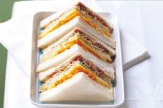 Pack a healthy lunch-box for school with these tasty sandwiches.
