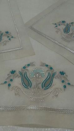 This Pin was discovered by Son Machine Embroidery Designs, Embroidery Patterns, Hand Embroidery, Designer Punjabi Suits Patiala, Royal Clothing, Diy Ribbon, Sleeve Designs, Elsa, Diy And Crafts