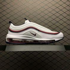 caa057cb2ec9fe Nike Air Max 97 White Blackened Blue Red Crush 921733-102-1 Air Max