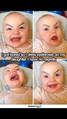 Memes are so funny. I start my day with all kinds of memes. I look through mostly sarcastic memes, dark humor memes and any hilarious memes I can find. Dank memes got me laughing all day. It's the highest form of humor. Laughing Funny, Laughing Baby, Haha, Funny Sites, Hilarious Memes, Funny Baby Memes, Baby Humor, Baby Jokes, Funny Pranks
