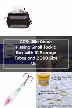 Rooster Tail, Fishing Box, Saltwater Fishing, Tube, Boxes, Storage, Purse Storage, Crates