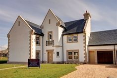 Traditional new home designs perfect for a new generation of homeowners. Impressive houses and apartments for sale in both rural and city centre locations nationwide. New Home Designs, New Homes For Sale, Apartments For Sale, Scotland, Castle, House Design, King, Traditional, Mansions