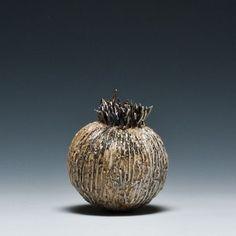 Ann-Charlotte Ohlsson Contemporary Ceramics, 3 Things, Flute, Surf, Charlotte, Ann, Carving, Sculpture, Ceramic Jars