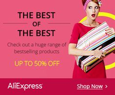 Click the banners and shop now…