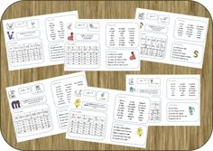Fiches phono - période 2 - mise à jour Cycle 2, Phonemic Awareness, Letter Sounds, French Language, Kids Learning, Bullet Journal, Lettering, Teaching, Maths