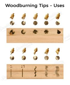 These wood burning tips are fun and come with wood burning stencils includes 15 pyrography tool tips 12 soldering tips 2 plastic stencils and 3 metal stencils Wood Burning Tips, Wood Burning Techniques, Wood Burning Crafts, Wood Burning Patterns, Wood Crafts, Diy Crafts, Dremel Projects, Wood Projects, Pyrography Tools
