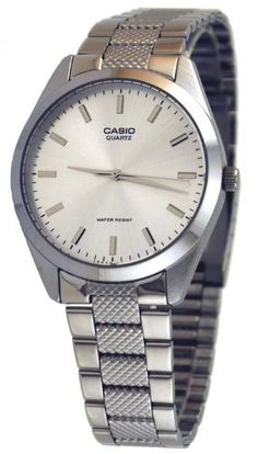 Casio Men's Steel watch #MTP-1274D-7A Casio. $22.97. Mineral Crystal. Quartz Movement. 50 Meters / 165 Feet / 5 ATM Water Resistant. 36mm Case Diameter