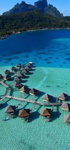 Imagine being swept off to Bora Bora