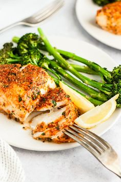 Parmesan Crusted Cod - an easy, healthy, delicious fish meal! This oven baked Parmesan Crusted Cod recipe is an easy fish meal to prepare for a quick, tasty week Cod Fish Recipes, Baked Cod Recipes, Seafood Recipes, Cooking Recipes, Healthy Recipes, Best Cod Recipes, Keto Recipes, Favorite Recipes, Bariatric Recipes