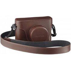 Fujifilm LC-X100 Leather Case for Finepix X100 Digital Camera - Brown