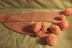 Poodle Scarf - Knit - Pattern Here