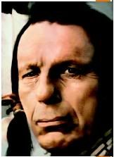 Cheif Iron Eyes Cody was the Indian who stood on the ocean shore and saw trash wash up and then he looked at the camera and there was a tear going down his cheek.  It was the Keep America Beautiful campaign, TV commercials.