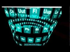 three.js css3d - periodic table - YouTube ((live demo :) erg awesome misschien een idee voor een portfolio ofzo ))