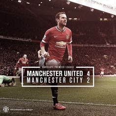Manchester United 4 - Manchester City 2