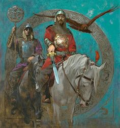 Gallery of Works High Fantasy, Fantasy Art, Character Inspiration, Character Design, The Legend Of Heroes, Military History, New Art, Art History, Knight