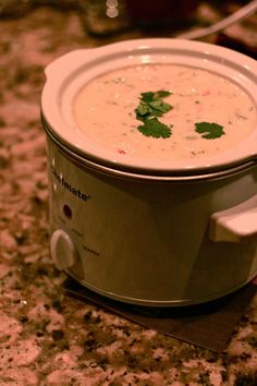 White Queso - to complete the crockpot dip trifecta! DUH! Why didn't I think of queso?!