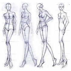 fashion croquis how to draw . fashion croquis front and back Fashion Design Sketchbook, Fashion Design Drawings, Fashion Sketches, Dress Sketches, Fashion Illustration Poses, Fashion Illustration Template, Fashion Illustrations, Fashion Figure Templates, Fashion Design Template