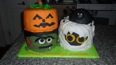 halloween birthday cakes | Made this cake as a surprise birthday cake for one of the ladies whose ...