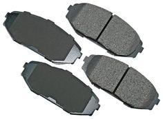 Akebono ACT793 ProACT Ultra-Premium Ceramic Brake Pad Set #carscampus