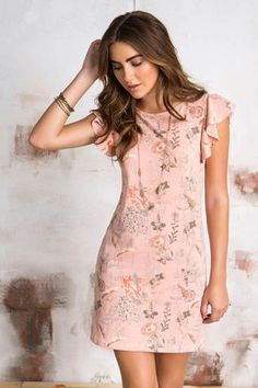 Magnificient Printed Dress Ideas That Make You Look Cool Simple Dresses, Cute Dresses, Casual Dresses, Fashion Dresses, Short Sleeve Dresses, Summer Outfits, Summer Dresses, Elegant Outfit, Dress Patterns
