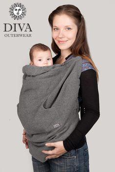 Diva Milano Wool Cover | Purple Elm Baby