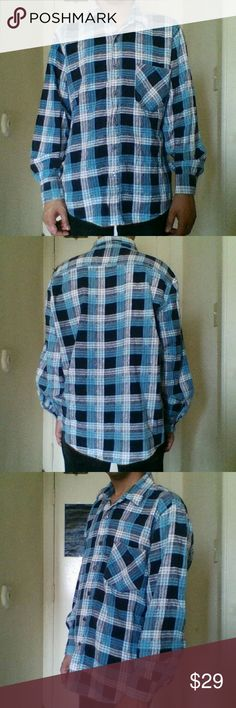Vintage Plaid Long Sleeve Shirt I actually never had a chance to wear this out. Vintage Shirts