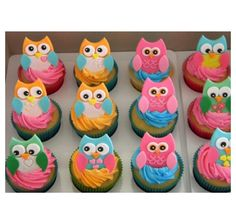 Owl cupcakes- We've done these at The Flavor Station  very cute
