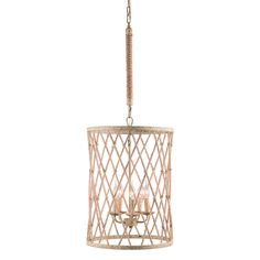 Bring a touch of rustic charm to your home decor with the elegant Mica chandelier ceiling lamp, highlighting a gorgeous twine, beige and rust finish. This five-light fixture is sure to update any living space. Home Lighting, Chandelier Lighting, Chandeliers, Cage, Ceiling Lamp, Ceiling Lights, Urban, Dot And Bo, Rustic Charm